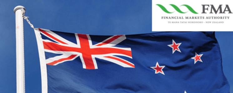 新西兰FMA对6家未授权公司发出警告!